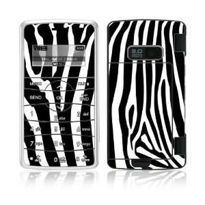Zebra Print Decorative Skin Cover Decal Sticker for LG