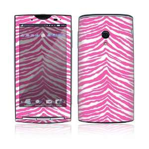 Pink Zebra Decorative Skin Cover Decal Sticker for Sony