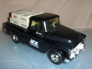 Toy Ace Hardware Diecast 1955 Chevy Cameo Truck Bank