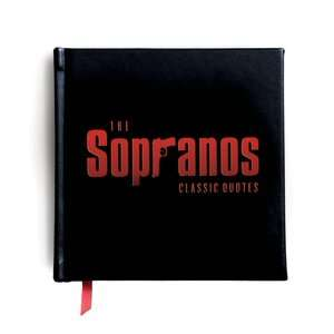 BARNES & NOBLE  The Sopranos: Classic Quotes by Carlo De Vito, Cider