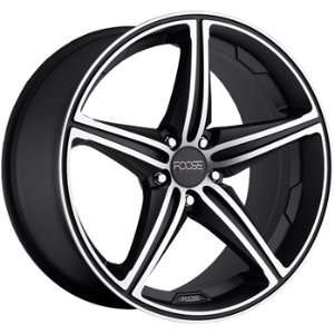 Speed 19x9.5 Black Wheel / Rim 5x120 with a 40mm Offset and a 72.60