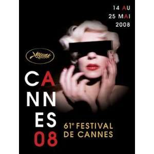 CANNES FILM FESTIVAL POSTER 2008 (FRENCH ROLLED) Home