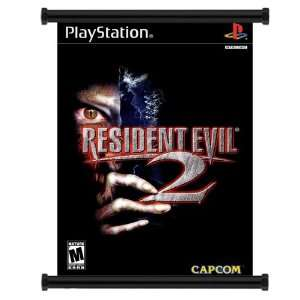 Resident Evil 2 Game Fabric Wall Scroll Poster (16 x 22