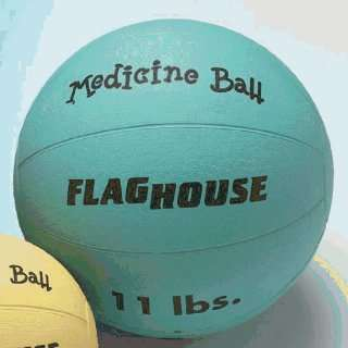 Balls Flaghouse Rubber Medicine Balls   11 Lbs: Sports & Outdoors