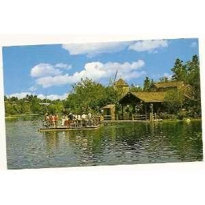 Walt Disney World Magic Kingdom Tom Sawyer Island 3x5 Postcard 0100
