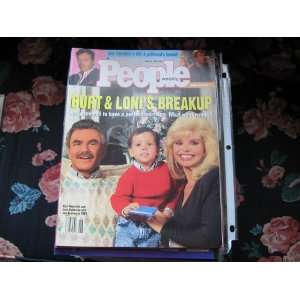 People Weekly (Burt Reynolds & Loni Anderson Son