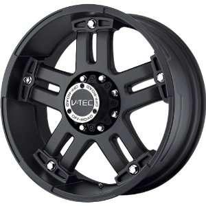 V Tec Matte Black Wheel (17x8.5/8x165.1mm) Automotive