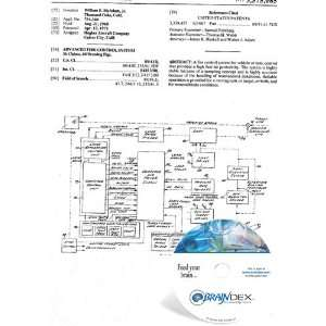 NEW Patent CD for ADVANCED FIRE CONTROL SYSTEM: Everything Else