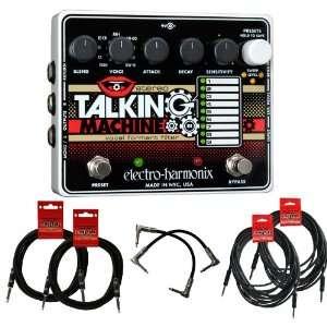 Electro Harmonix Stereo Talking Machine w/6 Free Cables