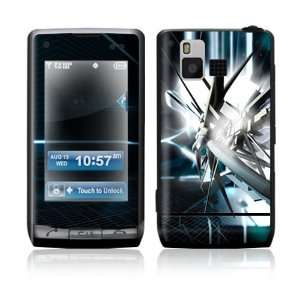 VX9700 Skin Sticker Decal Cover   Abstract Tech City