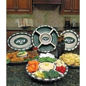 New York Jets Memory Company Team Ceramic Plate NFL Football Fan Shop