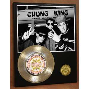 Beastie Boys Adam Yauch Laser Etched 24kt Gold Record Brass Monkey
