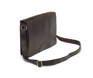 Leather Messenger Bag Mailbag Notebook Case Flap Cover Satchel New