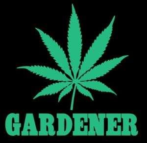 Gardener T Shirt Cannabis Weed Cool Funny Marijuana Pot