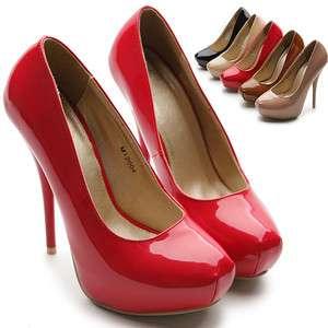 Womens Shoes Platforms Stilettos Classic High Heels Pumps Multi
