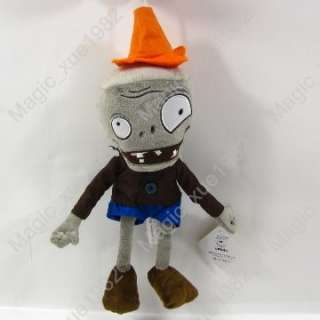 New Plants Vs Zombies Conehead zombie 13 soft toy