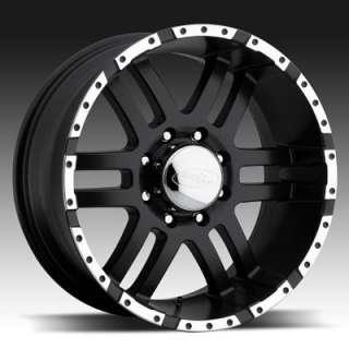 20 x9 Inch Eagle 079 0798 Black Wheels Rims 5 6 8 Lug