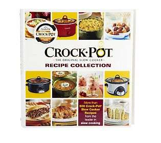 Crock Pot   The Original Slow Cooker Recipe Collection   QVC