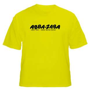 Abba Zaba Candy Logo T Shirt Colour