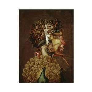 Giuseppe Arcimboldo   The Air Giclee Canvas
