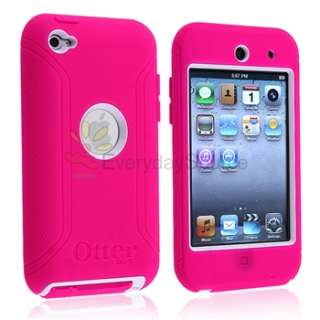 OTTERBOX DEFENDER CASE for APPLE iPOD TOUCH 4th 4 G GEN PINK WHITE