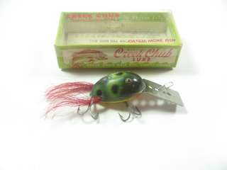 VINTAGE CREEK CHUB DINGBAT FISHING LURE IN BOX
