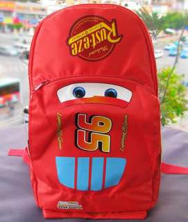 15 DISNEY PIXAR CARS Lightning McQueen KIDS BACKPACK SCHOOL BOOKBAG