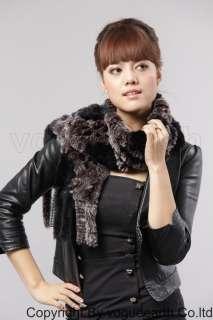 561 new real Rex rabbit fur 7 color scarf/shawl/wrap