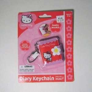 Hello Kitty Mini Diary Keychain Toys & Games