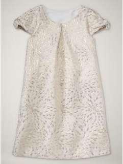 NWT Gap Moon & Stars Metallic Brocade Dress 6 7 8 10 Girls Kids Gold