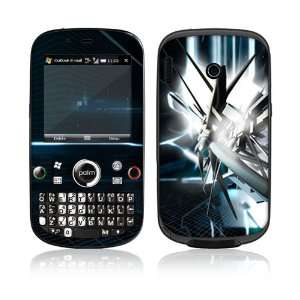 Palm Treo Plus Skin Decal Sticker  Abstract Tech City
