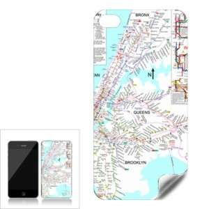 New York City Subway Map Skin for iphone 4