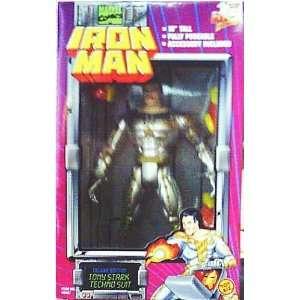 10 Deluxe Edition Tony Stark Techno Suit Iron Man Action