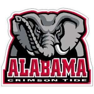 Alabama Crimson Tide NCAA Precision Cut Magnet  Sports