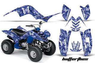 AMR RACING QUAD ATV GRAPHICS STICKER KIT STICKER YAMAHA RAPTOR 80