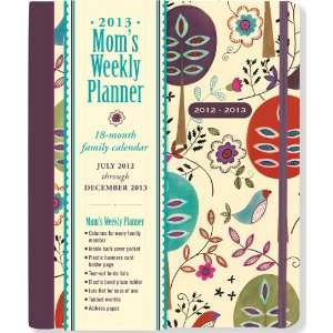 2013 Folk Art Birds Moms Weekly Planner (18 month