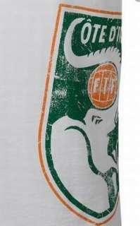 Puma IVORY COAST WC 2010 Fan BIG BADGE Shirt BRAND NEW