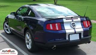 Ford MUSTANG Rally Racing Stripes Decals Graphics 2011