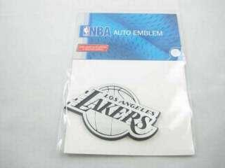 NBA Los Angeles Lakers 3D Chrome Team Emblem Auto Logo