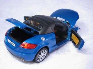 Audi TT blue Cararama Diecast Car Model 124 1/24