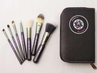 PCS Hello Kitty Makeup Brush Brushes Set + Faux Leather Case