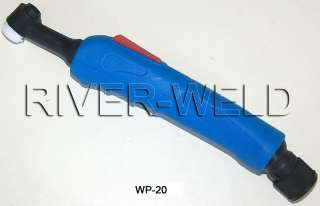 WP 20E TIG welding torch body Head 200Amps Water Cooled o style