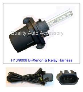 H4 9003 HB2 Bi xenon HID Headlight Kit For Low & High Beam 8000K