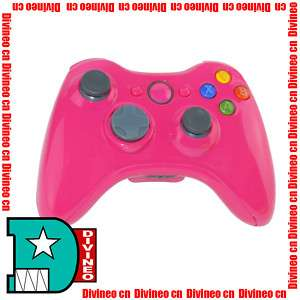 Wireless Controller Shell Case Kit for XBOX 360 Pink