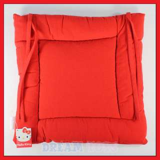 14 Sanrio Hello Kitty Red Square Chair Seat Cushion