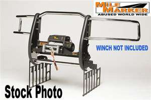 Extreme Mount Winch Grille Guards Chevy Silverado 2500HD 3500 304SS