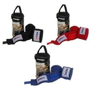 RDX Pro Hand Wraps Bandages, Boxing Gloves MMA UFC Black, Blue, Red