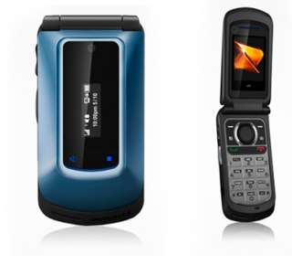 BRAND NEW BOOST MOBILE MOTOROLA I412 BLUE FLIP PHONE