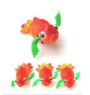 ONE Wind Up Bath Toy Swim Goldfish Fish,Party Favor Supply Bag Prize