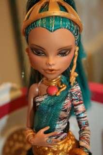 Custom Monster High Nefera doll professional Repaint by Buff OOAK